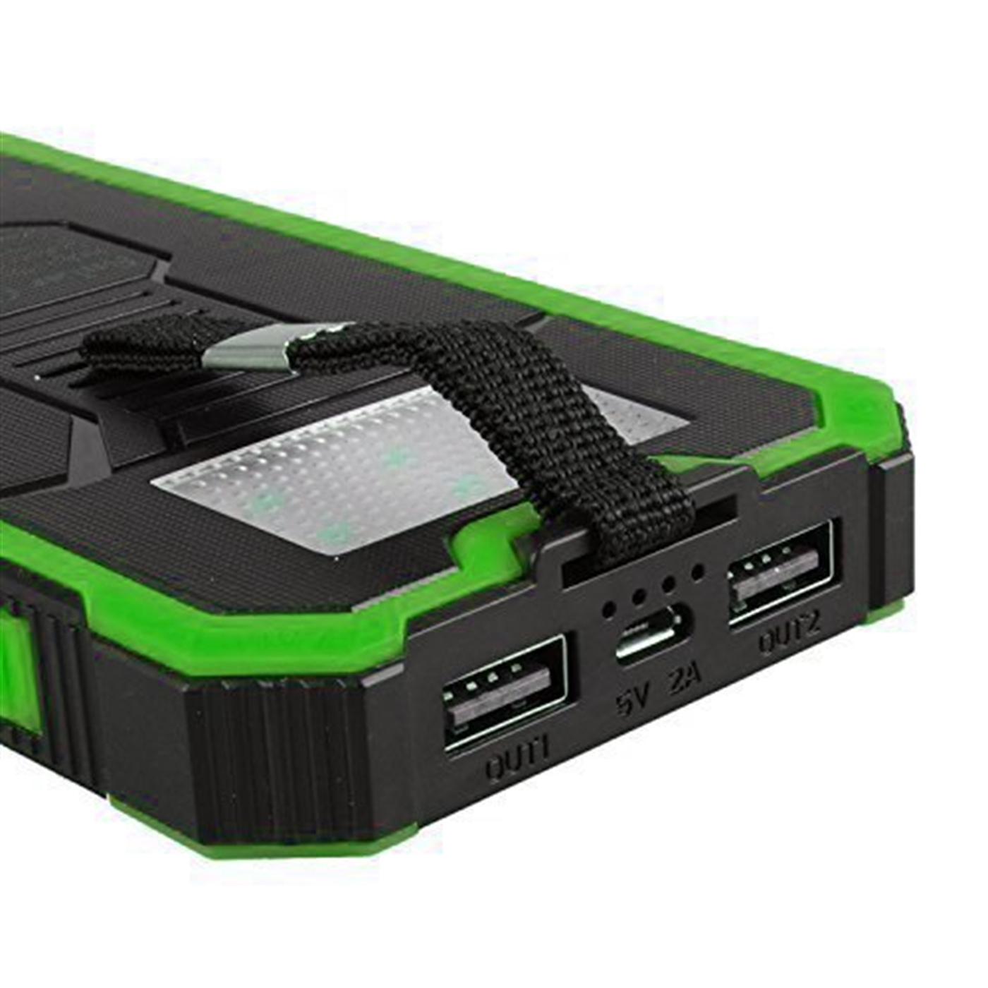 Queenacc Queenacc 15000mah Solar Panel Charger With Led