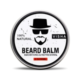 Picture of Beard Balm,Miyshow Beard Conditioner Organic Natural Moustache Cream Soften Beards -Leave in Conditioner for Men Beard Care